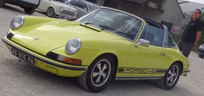 Porsche 911 Targa 2,4 / 1974 à Cerny (91) Septembre 2014 15247575972_ee0ac0091f_c