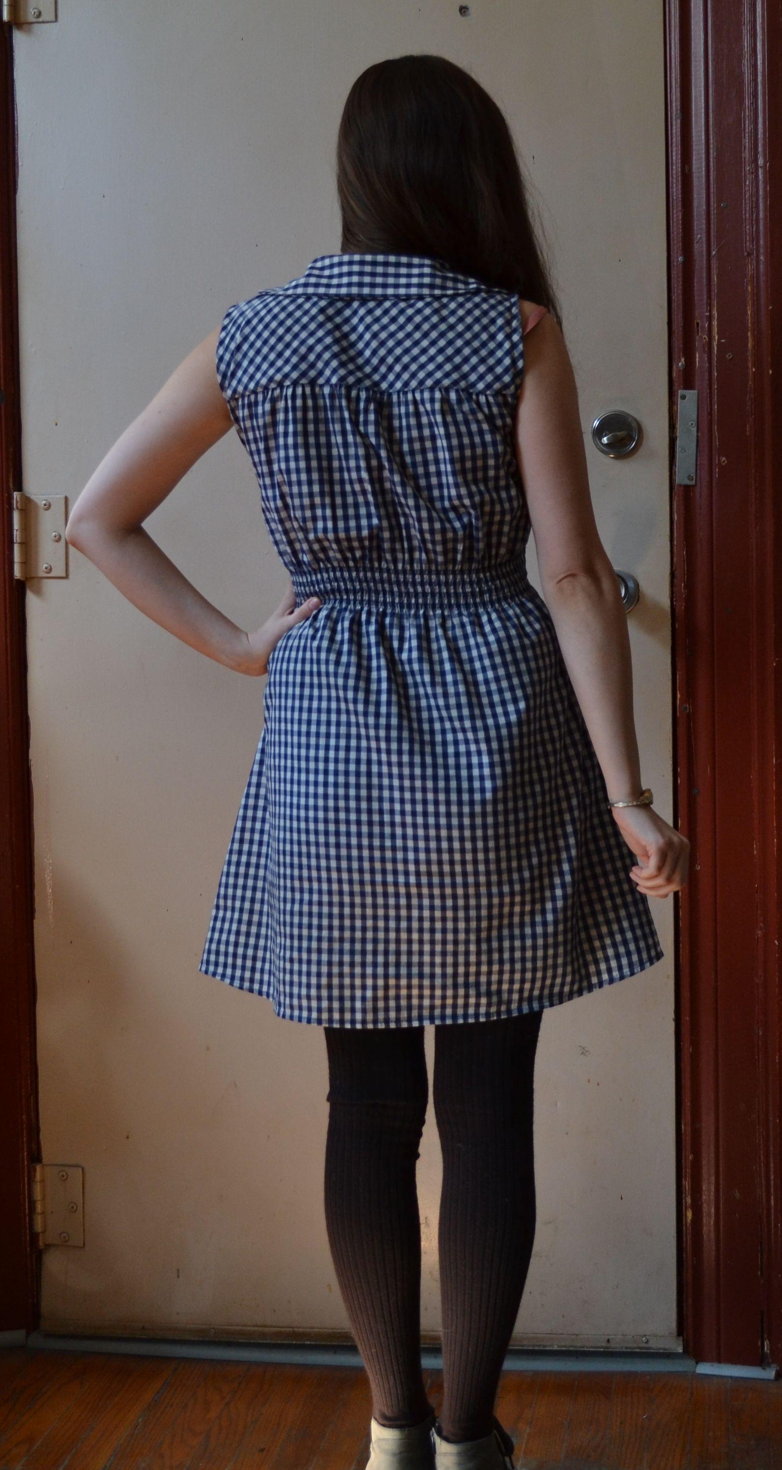 Gertie's book for better sewing shirtwaist dress