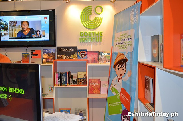 Goethe-Institut Logo in MIBF booth