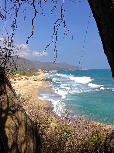 Tayrona National Park beach