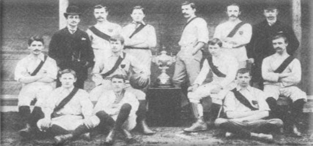 picture of first ever Southampton team
