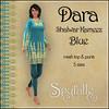 Spyralle Dara Shalwar Kameez Blue