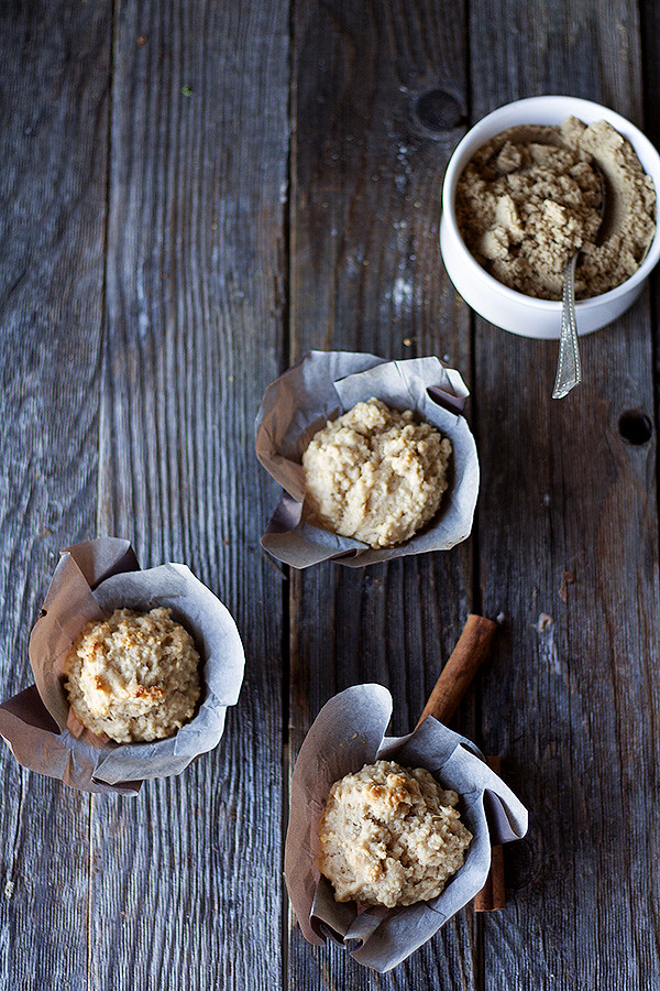 brown sugar and cinnamon oatmeal muffins
