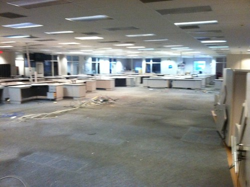 Star-Ledger Newsroom, Newark, dismantled