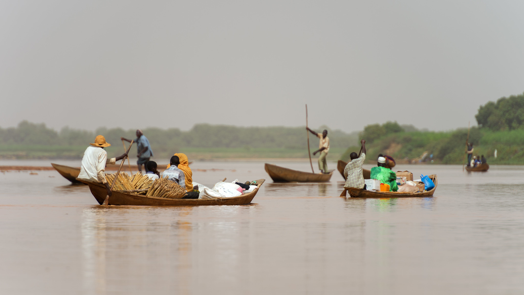 Niger River Crossing