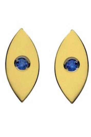 Nazar Eye Stud Earrings