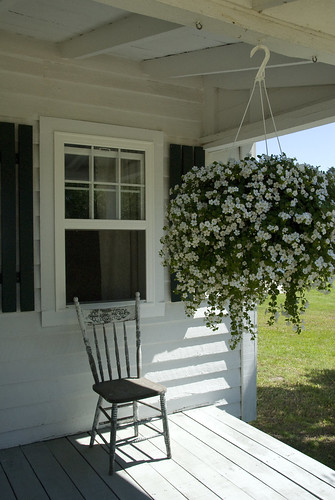 The porch at Cheseldine House, Bushwood, MD
