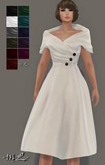 169L -mL- Bettie Dress - HUD