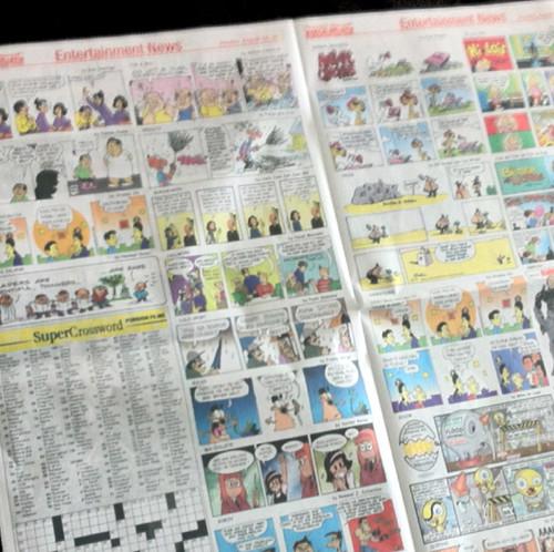 Newspapercomicssection