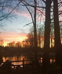 Sunrise over Bothell. Taken by Silvette.