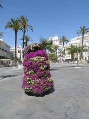 Cadiz, Spain:  Plaza de San Juan de Dios and Plaza Espana stroll