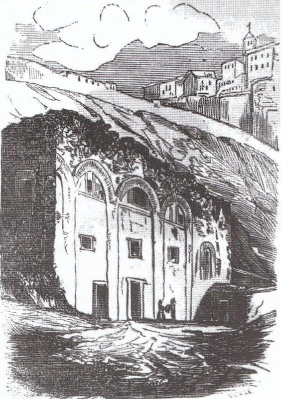 Grabado de San Pablo del Granadal en 1852