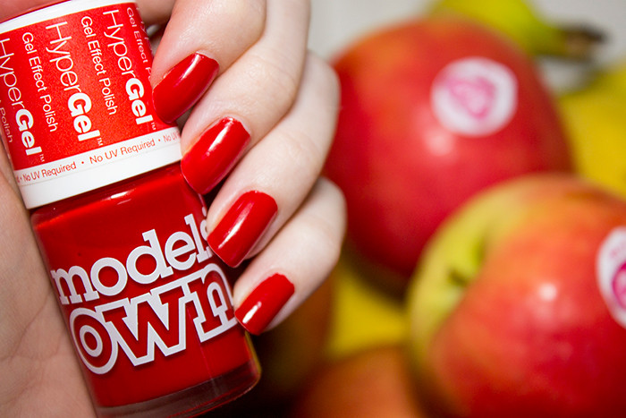 Models Own HyperGel in Red Lustre