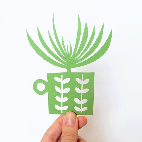 Original papercut by Vitamini