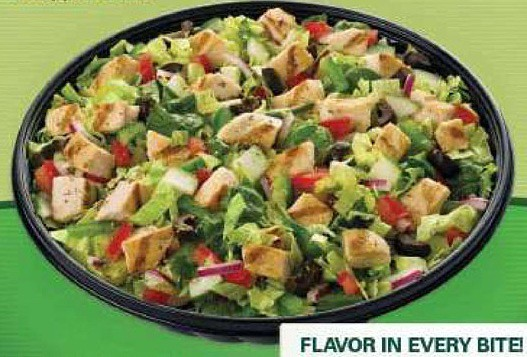 Subway Oven Roasted Chicken Salad