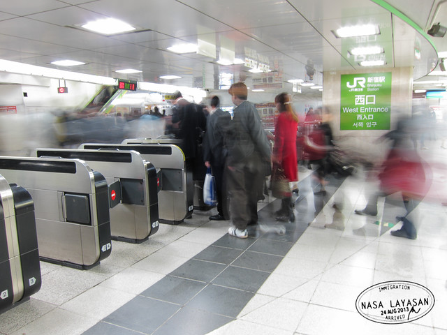 Rush Hour @Shinjuku