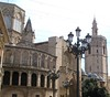 13 Jun 2014: Valencia, Spain. Cathedral
