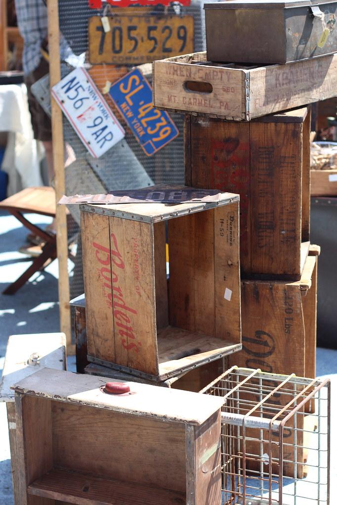 Flea Market Finds on #LivingAfterMidnite