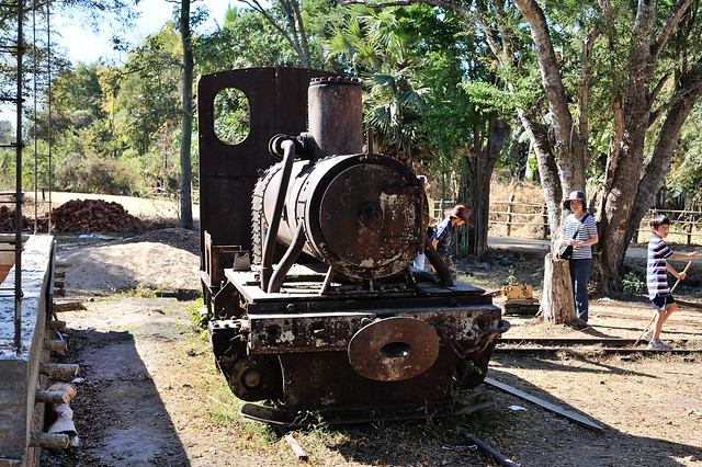 Remains of French-Indochina Line