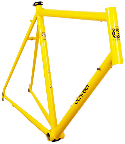 "<p>Gunnar Roadie: Solid road performance.  It makes for the perfect go-fast bike you feel you can ride anywhere. Shown here in Gunnar's classic Yellow, you can feel both its joy and power. <a href=""http://gunnarbikes.com/site/bikes/roadie/"" rel=""nofollow"">Learn more . . </a></p>"