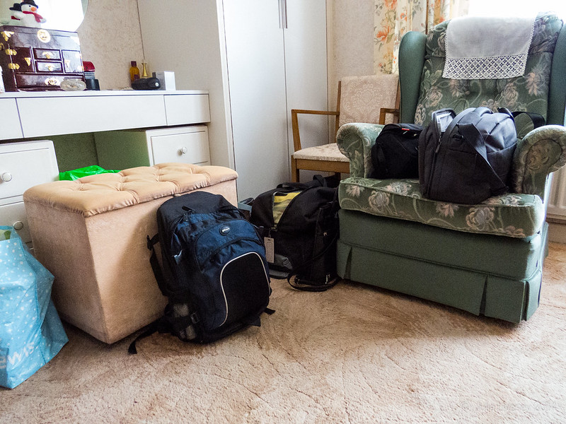 All packed up to go home