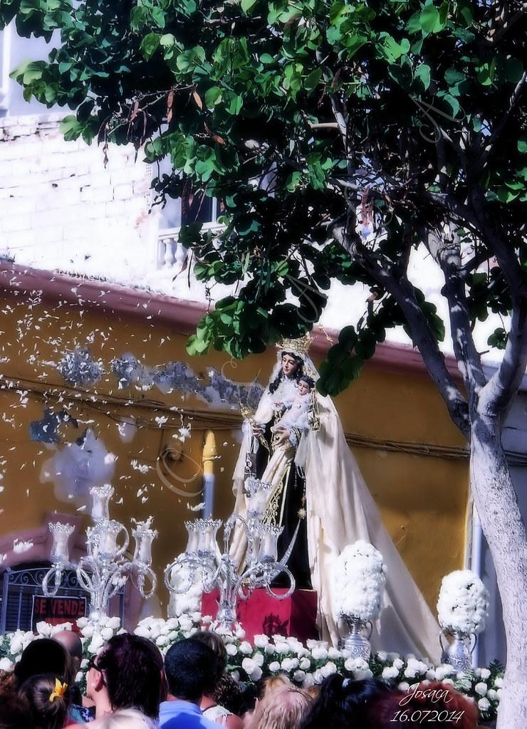 Procesión Virgen del Carmen 2014 Pescadería (Almería)