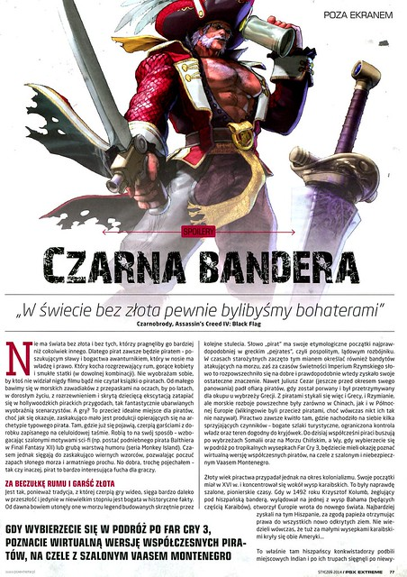 PSX Extreme 2014-01 Czarna Bandera 1
