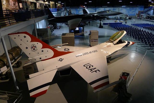 F-16A, U-2C & SR-71A