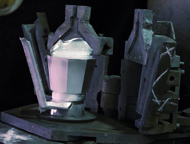 Bialetti - Stampo caffettiera - Fase di produzione di caffettiera moka - IMM-3h070-0000172