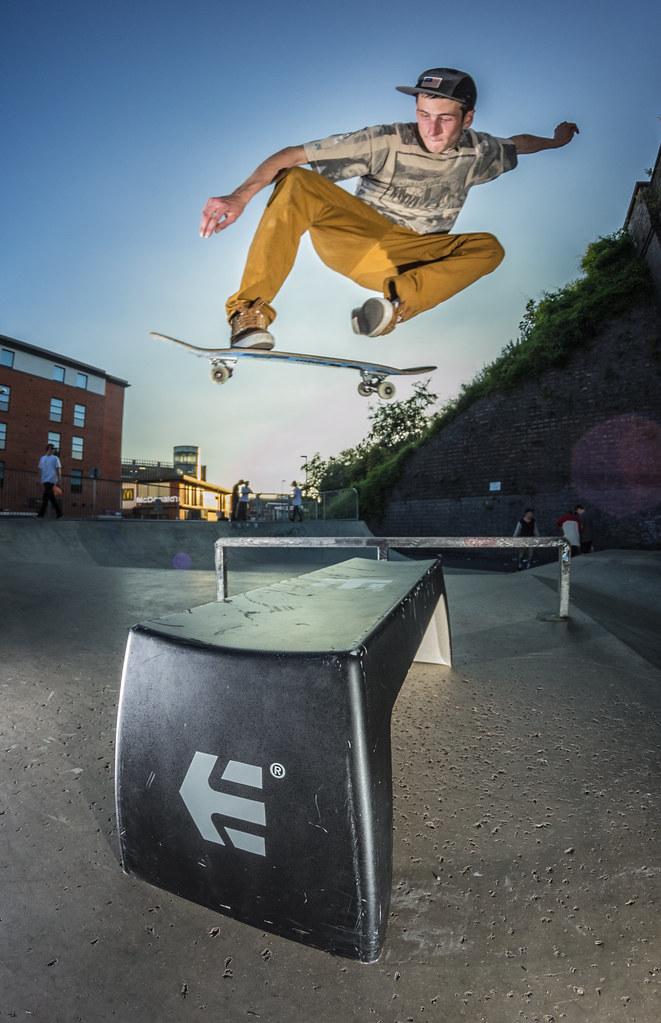 Sam Gosling - BS180 - Go Skateboarding Day 2014