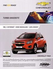 "Chevrolet Trax (2013) 1.6 LS TURBO in ""velvet red metallic"""