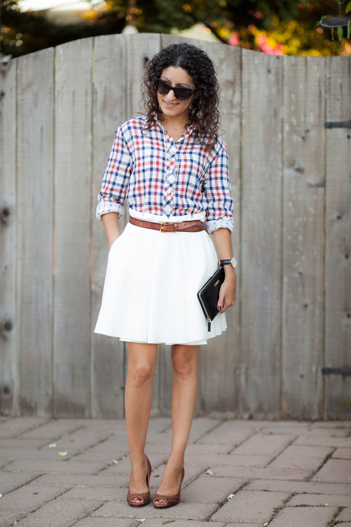 Plaid and Polka Dots with California Tailor