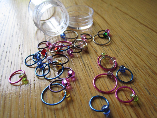 Carie's stitch markers