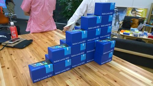 Lumia 800タワー