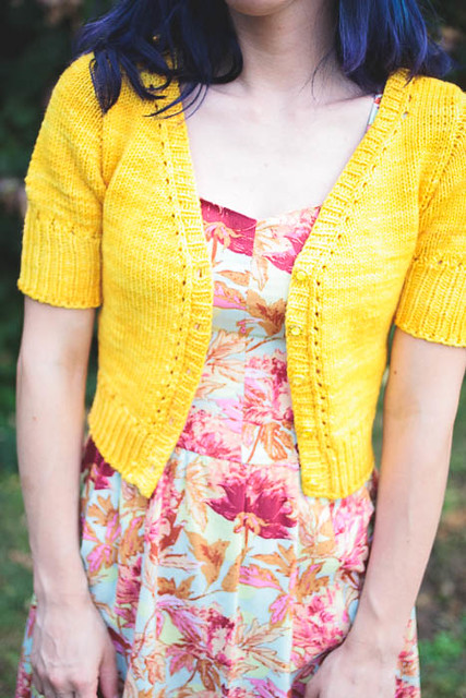 OAL 2014: Completed Simplicity 1803 + Myrna Cardigan