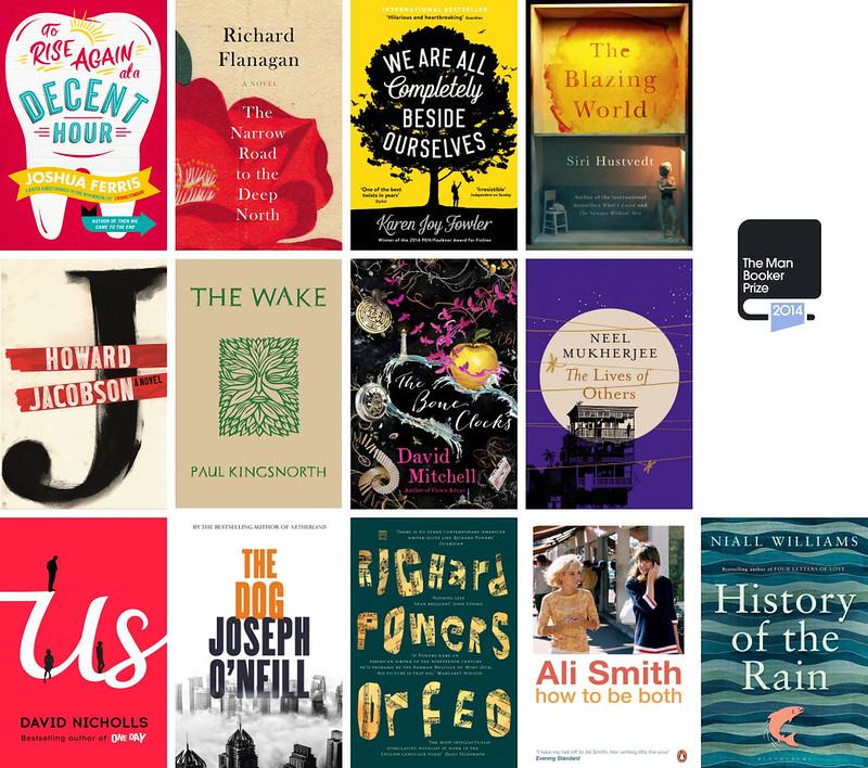 Booker Prize 2014 Longlist