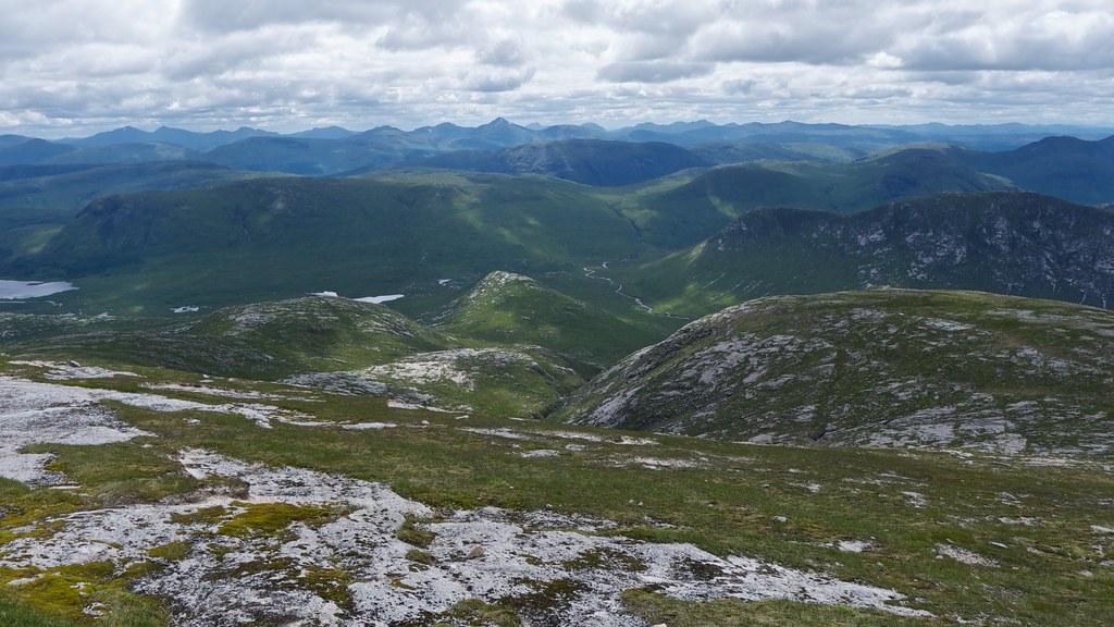 Upper Glen Kinglass from Stob Coir'an Albannaich