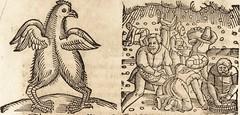 """Image from page 629 of """"Prodigiorvm ac ostentorvm chronicon : quae praeter naturae ordinem, motum, et operationem, et in svperioribus & his inferioribus mundi regionibus, ab exordio mundi usque ad haec nostra tempora, acciderunt ..."""" (1557)"""