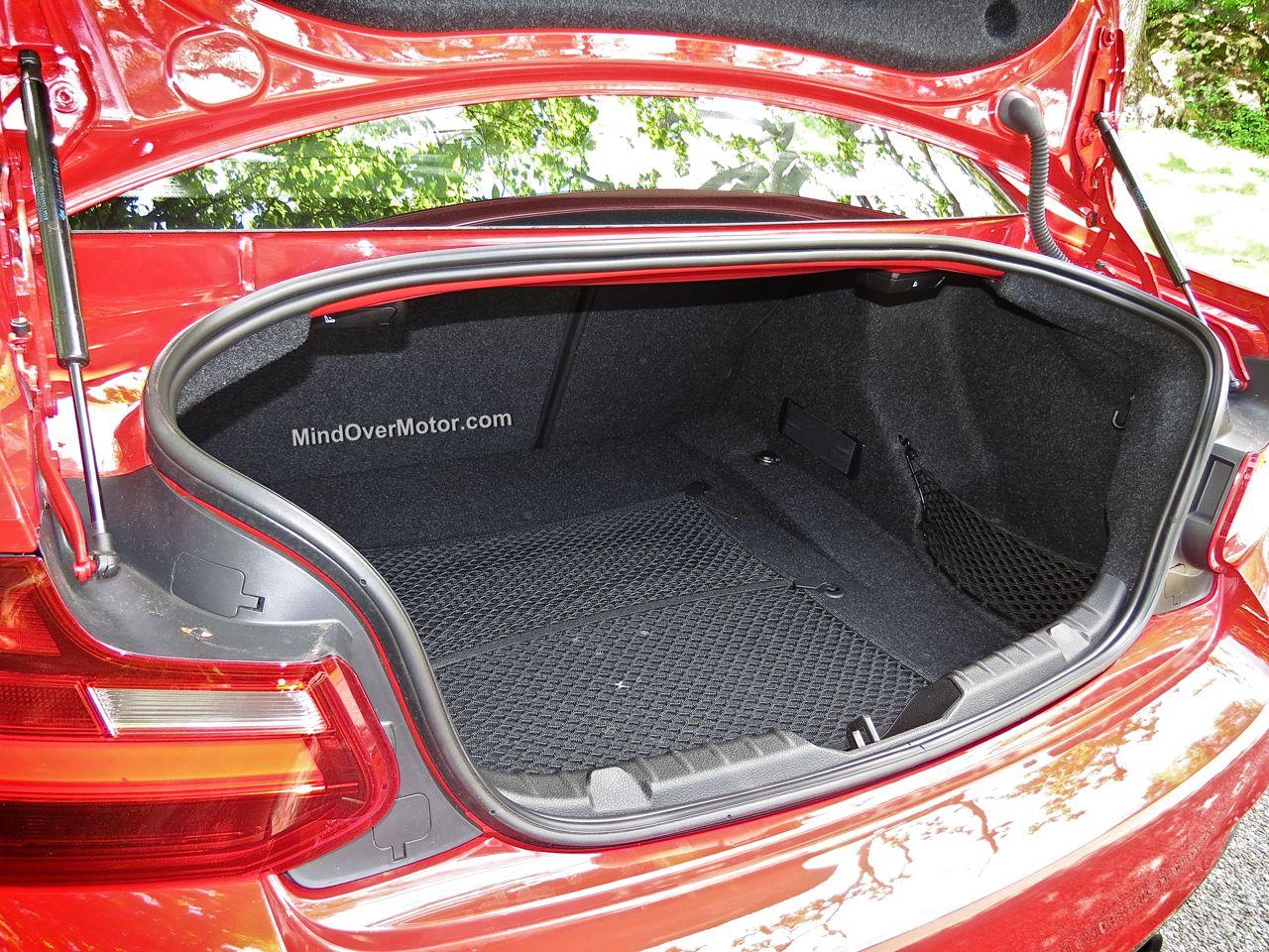 BMW M235i Trunk