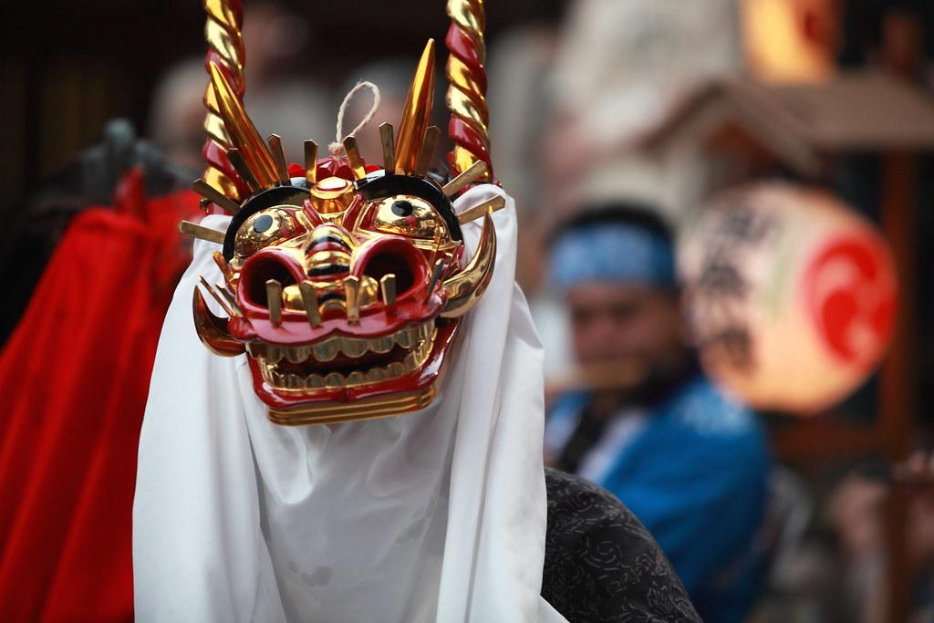 Shishimai (Lion Dance) In Tokyo #2