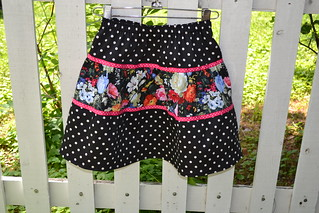dot & floral in size 5