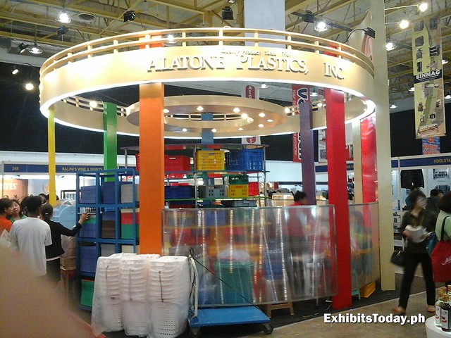 Alatone Plastics Inc. Trade Show Display