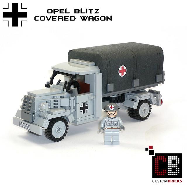 CB LEGO Custom WW2 Opel Blitz Plane RK CB0