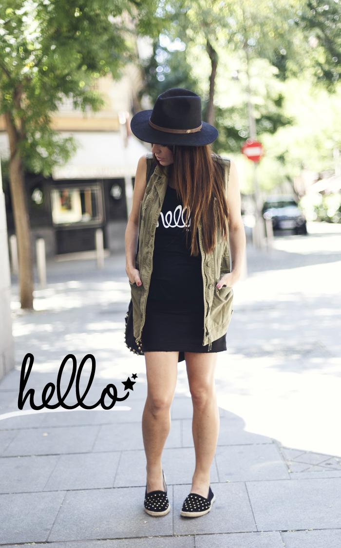 street style barbara crespo hello a bicyclette tshirt fashion blogger outfit blog de moda
