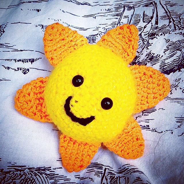 ♡ Amigurumi Puppe Sunshine ♡ amigoll9 ♡ Deko ♡ | 500x500