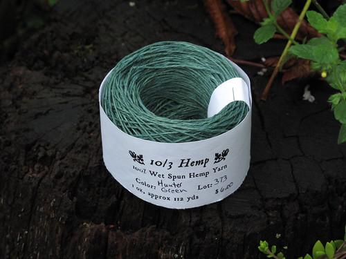 Hand Dyed Hemp Yarn