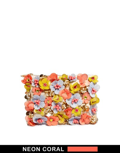 ASOS Embellished Clutch