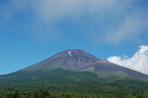 ★富士山の夏★山麓から・・・