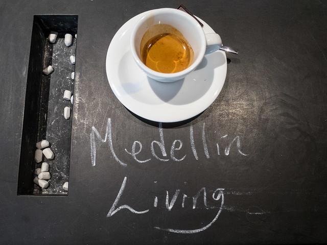 Having fun with the chalkboard coffee table