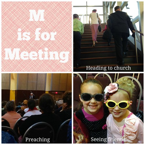 M is for Meeting